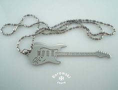 Fender Electric Guitar free shipping  pendant от BorowskiStore