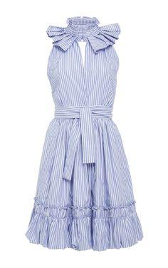 Briley Ruffle Mini Dress by ALEXIS for Preorder on Moda Operandi