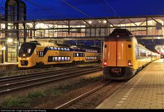RailPictures.Net Photo: Dutch Railways (NS) Bombardier VIRM Electric Multiple Unit at Woerden, Netherlands by Peter Reading