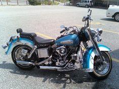 1982 Harley Davidson FLH Shovelhead - I <3 the 2-toned look on a motorcycle