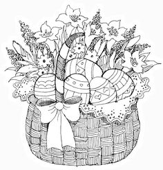 Spring Easter Coloring Pages - Spring Easter Coloring Pages , Spring Coloring Pages Colouring Sheets For Adults, Easter Coloring Sheets, Spring Coloring Pages, Easter Colouring, Coloring Book Pages, Coloring Pages For Kids, Halloween Coloring, Easter Art, Easter Eggs