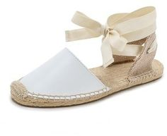 Soludos Classic Leather Espadrille Sandals - Click the link for product details :)