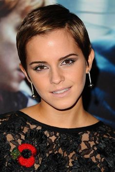 """40 Best Short Wedding Hairstyles That Make You Say """"Wow! Short Hairstyles For Women, Celebrity Hairstyles, Bride Hairstyles, Cool Hairstyles, Short Hair Updo, Short Wedding Hair, Hair Styles 2014, Short Hair Styles, Emma Watson Short Hair"""