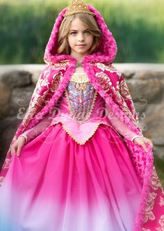 Your Fairy Godmother is an online rental boutique that carries only high-end or couture costumes and outfits. Disney Princess Dresses, Disney Dresses, Princess Aurora Costume, Dresses Kids Girl, Flower Girl Dresses, Costume Prince, New Dress, Dress Up, Aurora Dress