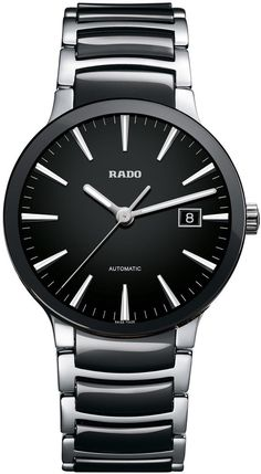 Rado Watch Centrix L #bezel-fixed #bracelet-strap-ceramic #brand-rado #case-material-steel #case-width-38mm #date-yes #delivery-timescale-4-7-days #dial-colour-black #gender-mens #luxury #movement-automatic #official-stockist-for-rado-watches #packaging-rado-watch-packaging #style-dress #subcat-centrix #supplier-model-no-r30941152 #warranty-rado-official-2-year-guarantee #water-resistant-30m