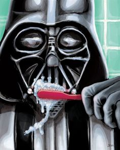 Dentaltown - Roses are red, violets are blue, if you love Star Wars, may the brushing force be with you.