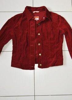 Kup mój przedmiot na #Vinted http://www.vinted.pl/kobiety/kurtki/8589101-bordowa-sztruksowa-kurtka-70s-style