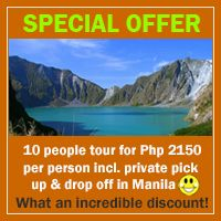 Rates, Prices & Costs for Hiking Mount Pinatubo | Cheap Tours from Manila