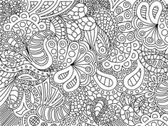 Fun To Color Zentangle Paisley Doodle Drawing By KathyAhrens On DeviantART Abstract Coloring Pages Colouring Adult Detailed