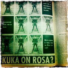 Kuka on Rosa Liksom?