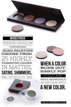 Younique pressed shadow quad palette