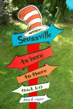 Dr Seuss - thing 1 & thing 2 party inspiration