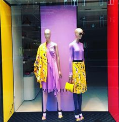 """EMILIO PUCCI, London, UK, """"I don't usually lose my temper Kathryn... But if I get angry, it's true - I'm scary"""", photo by Window Shoppings, pinned by Ton van der Veer"""