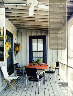 Interior Stylist Gena Sigala from Workgroup #design #inspiration #home #interiors #porch