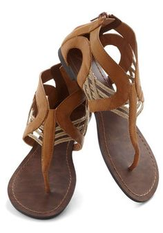 Talking Drum Sandal, #ModCloth