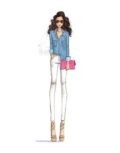Custom Fashion Illustration & Bridal Illustrations. Sketching all that is trendy & chic out of a studio in Boston, MA. Prints available for purchase. Shop now!