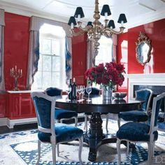 Charming dining room