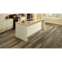 Allure ISOCORE Multi-Width x 47.6 in. Harrison Pine Dark Luxury Vinyl Plank Flooring (19.53 sq. ft. / Case)-I114813 - The Home Depot