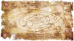 Topkapı Sarayı arşivlerinde ortaya çıkartılan yeniPiri Reis haritasında, güneş sistemi doğruya yakın bir oranda çizilmiş Topkapı Sarayı'nda or