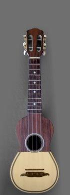 Model: Antique Portuguese  Cavaquinho   Soundboard: Linden   Back: Cherry wood   Sides: Cherry wood   Neck: Linden   Fretboard: Rosewood    Year: 1991