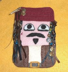 Pirates of the Caribbean: Jack Sparrow iPod Touch/iPhone Felt Case