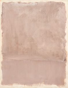 Mark Rothko, Untitled, 1969, Acrylic on paper