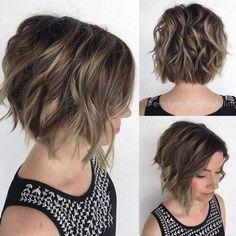 10 Messy Frisuren für Kurze Haare – Cut & Color Update // #Color #Frisuren #für #Haare #kurze #Messy #Update