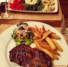 Vacamuuu - restaurantul cu cele mai bune steak-uri si cei mai buni burgeri din Bucuresti   Unde Iesim in Oras? Mai, Steak, Restaurant, Food, Diner Restaurant, Essen, Steaks, Meals, Restaurants