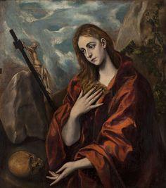 María Magdalena Penitente by El Greco