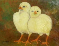 "Buddies, oil on canvas, 11"" x 14"", 2014, $85 (unframed)"