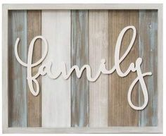 Wayfair Family Wood Wall Decor #ad