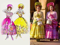 Cinderella 2015 stepsisters dresses