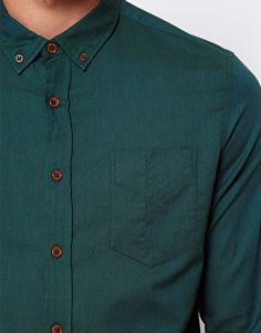 Enlarge ASOS Oxford Shirt with Overdye