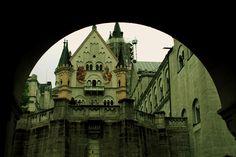 The Neuschwanstein castle.....also know as the Cinderella castle.