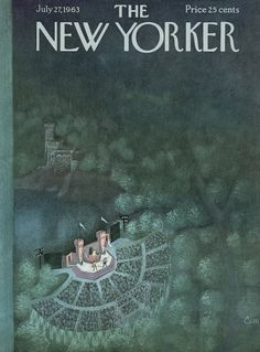 The New Yorker - Saturday, July 27, 1963 - Issue # 2006 - Vol. 39 - N° 23 - Cover by : Charles E. Martin