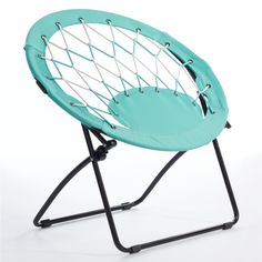 Blue White And Turquoise Bungee Chair From Target