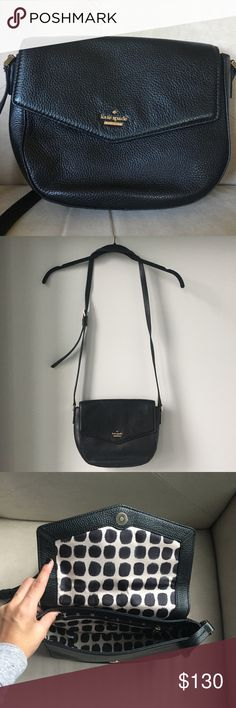 "NWOT Kate Spade Crossbody A never been worn  beautiful Kate Spade soft leather crossbody. I‎t has never been worn. A great size to fit a lot without feeling bulky.   8""h x 10""w x 3""d kate spade Bags Crossbody Bags"