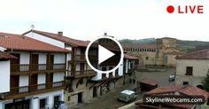 Beautiful view of the Collegiate Church of Santa Juliana. #Cantabria #Spain #Espana #Travel #Webcam
