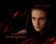 Screencap of Bella Cullen alias Kristen Stewart as a vampire in The Twilight Saga Breaking Dawn part 2 Bella Cullen as a vampire in - KRISTEN STEWART Twilight Book, Twilight Breaking Dawn, Breaking Dawn Part 2, Robert Pattinson Twilight, Bella Cullen, Edward Cullen, Bella Swan, Human Emotions, Music Film