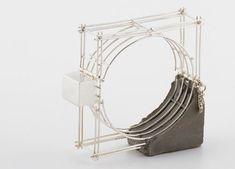 Benita Dekel, 2011 - jewelry with concrete - bracelet