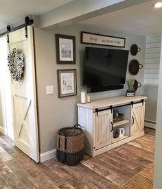 42 Cozy Farmhouse Living Room Design That Make Calm Atmosphere - Home Design My New Room, Home Design, Design Ideas, Interior Design, Wall Design, Modern Interior, Simple Interior, Ceiling Design, Interior Ideas