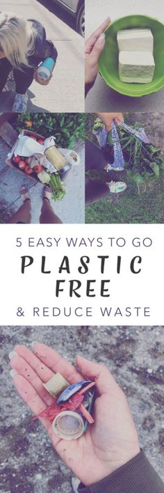 5 Easy Ways to Go Plastic Free | How to Go Plastic Free