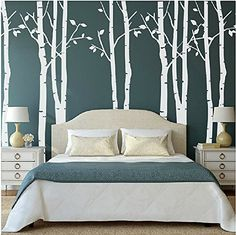 Set of 9 Birch Tree Wall Stickers White Tree Wall Stickers Nursery Big Tree Wall Stickers for Living Room kiyeon http://www.amazon.co.uk/dp/B017BCMYW6/ref=cm_sw_r_pi_dp_Lll2wb11XRE9Q