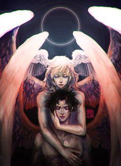 Ryo Asuka [Satan] & Akira Fudo [Devilman]