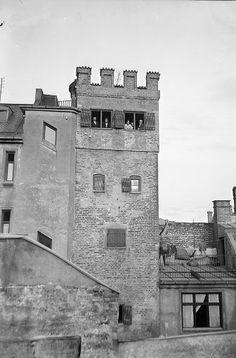 Der Löwenturm war gar kein Wehr-, sondern ein Wohnturm. Er ist wohl in den Jahren nach 1315 entstanden. Die Zinnen bekommt er im Jahr 1896 aufgesetzt. Foto: Volk-Verlag