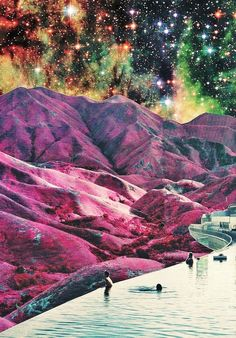 """Purple Mountains Majesty"" by Caroline A"