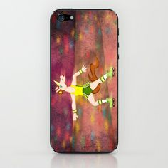 Roller Boogie Unicorn iPhone & iPod Skin by That's So Unicorny - $15.00
