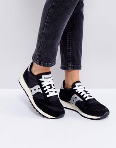 Saucony Jazz O Sneakers In Black - Black