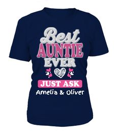 Best Auntie Custom Names  #birthday #october #shirt #gift #ideas #photo #image #gift #costume #crazy #nephew #niece