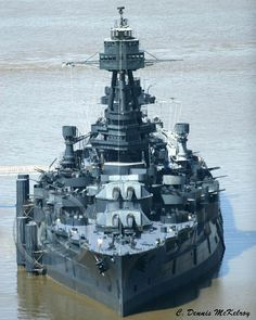 The Battleship TEXAS is the last dreadnought in existence in the world, a veteran of Vera Cruz (1914) and both World Wars, and is credited with the introduction and innovation of advances in gunnery, aviation and radar. Having been designed in the first decade of the 20th century, (keel laid in 1911 and completed in 1914), and having seen action in some of the most intense and critical campaigns of WWII, she is an important piece of our naval and maritime history. USSTEXASBB35.COM